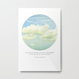 The beauty of the dreams Metal Print