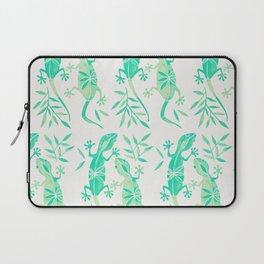 Geckos – Mint Palette Laptop Sleeve