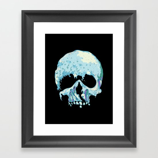 Silent Wave Framed Art Print