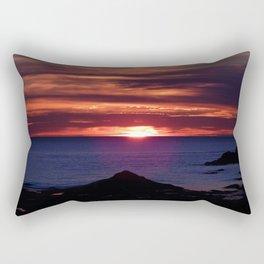 Dawn on the Sea Rectangular Pillow