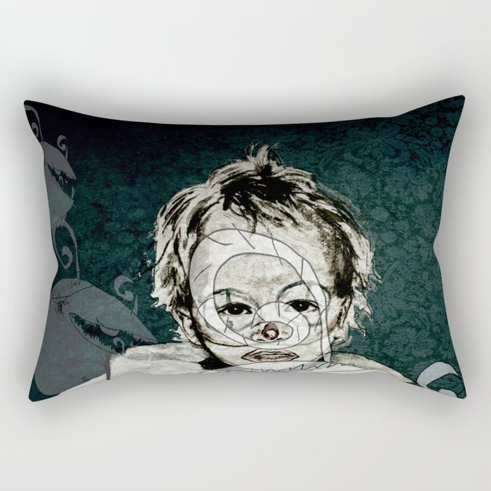 FRIENDLY MONSTERS Rectangular Pillow