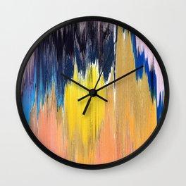 Pixel Sorting 66 Wall Clock
