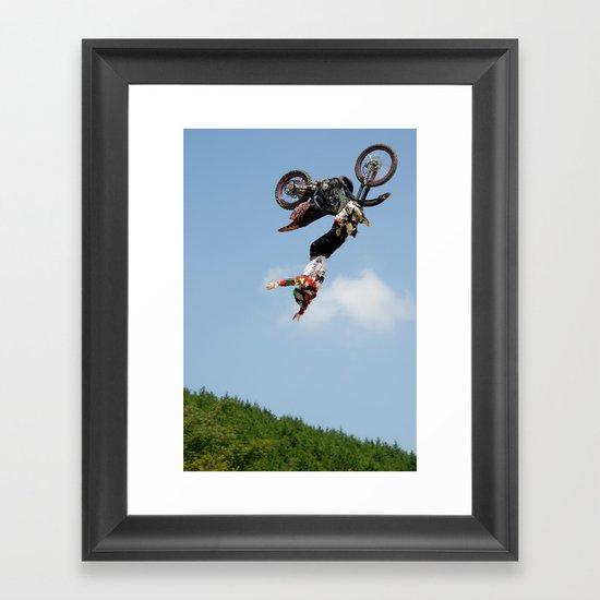 Eigo Sato Cliffhanger, FMX Japan Framed Art Print