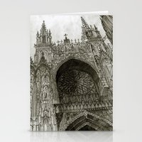 takmaj Stationery Cards featuring Rouen facade by takmaj
