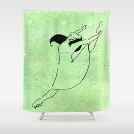 Freedom of Dance Shower Curtain