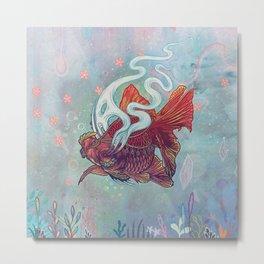Ocean Jewel Metal Print