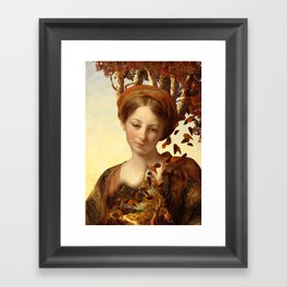 The Great Threshold of Bronze Framed Art Print