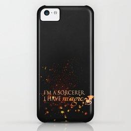 I have magic - Merlin iPhone Case