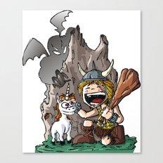 Dungeon! Canvas Print