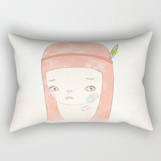 HATE YOU MISS YOU Rectangular Pillow