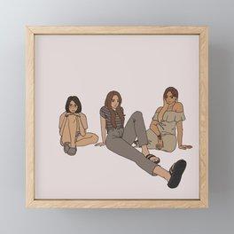 b3 Framed Mini Art Print