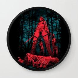 Huntress Wall Clock