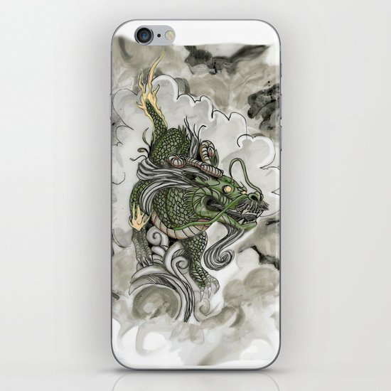 Dragon of The Mist iPhone & iPod Skin
