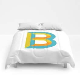 Letter B Comforters