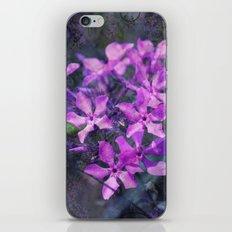 purple pink flower explosions iPhone & iPod Skin