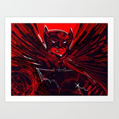 SHADOW VELOCITY_V2 Art Print