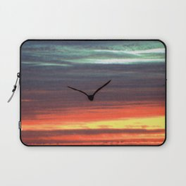 Black Gull by nite Laptop Sleeve