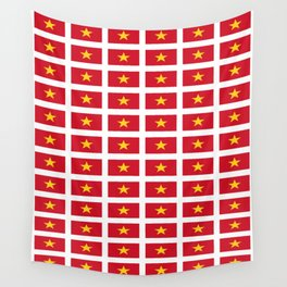Flag of vietnam -Vietnamese,Việt Nam,hanoi,vietnamien,hanoi,tiếng Việt Wall Tapestry