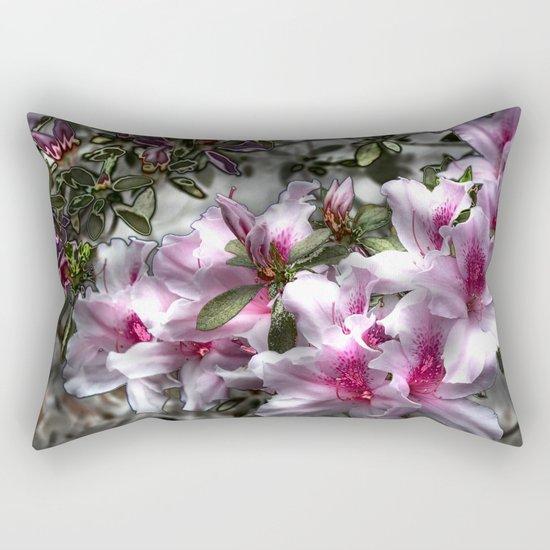 Flower Power, natural healing for the soul Rectangular Pillow
