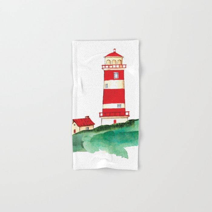 Lighthouse Hand & Bath Towel