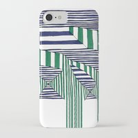 stripes iPhone & iPod Cases featuring Stripes by Take F1ve