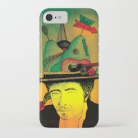 dylan iPhone & iPod Cases featuring dylan by Mariana Beldi