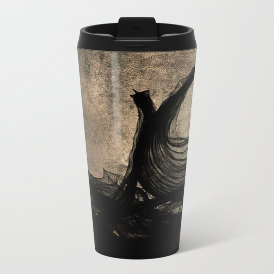 An Ocean of Dischord Metal Travel Mug