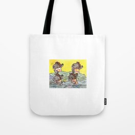 Don't give a bear your breakfast Tote Bag