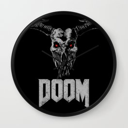 Doom - Icon of Sin Wall Clock