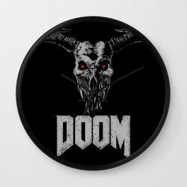Doom - Icon of Sin Wall Clock