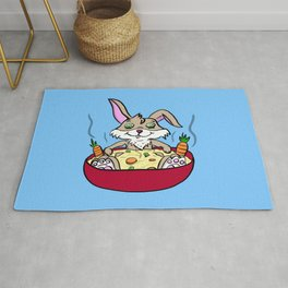 Rabbit Spa Day Rug