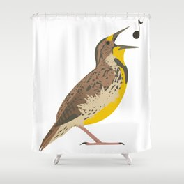 Meadowlark! Shower Curtain