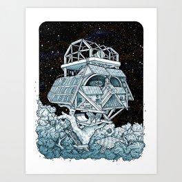 Darth's Treehouse  Art Print