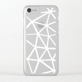Seg Zoom 3 Clear iPhone Case