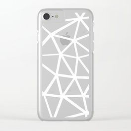 Seg Zoom 3 Clear iPhone Case