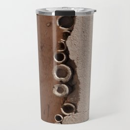 rotated rustic roof Travel Mug