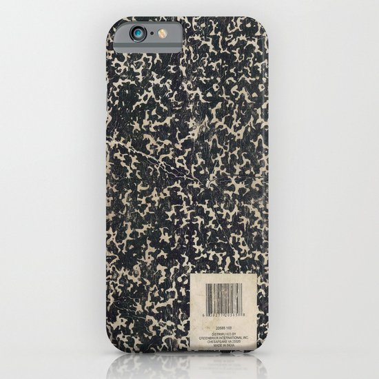 Notebook iPhone & iPod Case