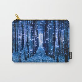 Magical Forest Bluest Blue Carry-All Pouch