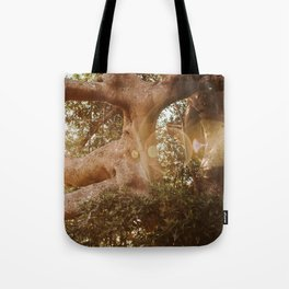 Labyrinth of light Tote Bag