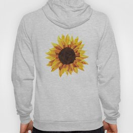Polygonal Sunflower Hoody
