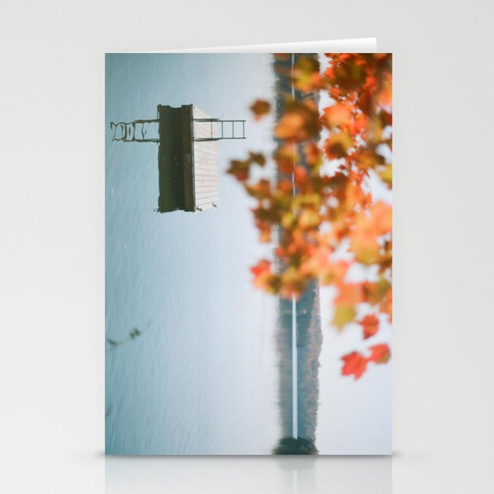 lake side view  Stationery Cards