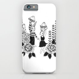 Bunny Trip iPhone Case