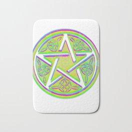 celtic star Bath Mat