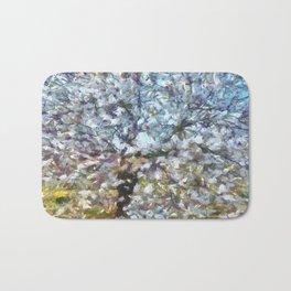 Spring Almond Blossom Bath Mat