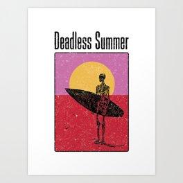 Deadless Summer Art Print