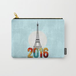 Happy New Year in Paris Carry-All Pouch