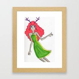 Fawn 5 Framed Art Print