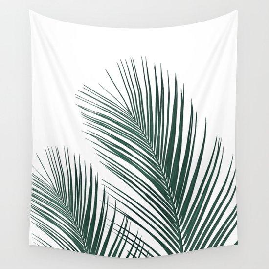 Tropical Palm Leaves #2 #botanical #decor #art #society6 by anitabellajantz