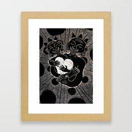 The Power of Love. Framed Art Print