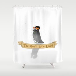 The Gourd Who Lived Shower Curtain